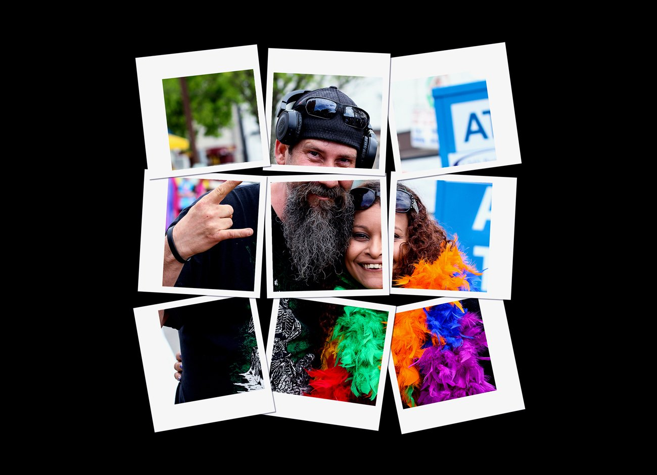 拼贴效果照片处理特效PS动作模板素材 Collage Photo Effect PS Action插图2