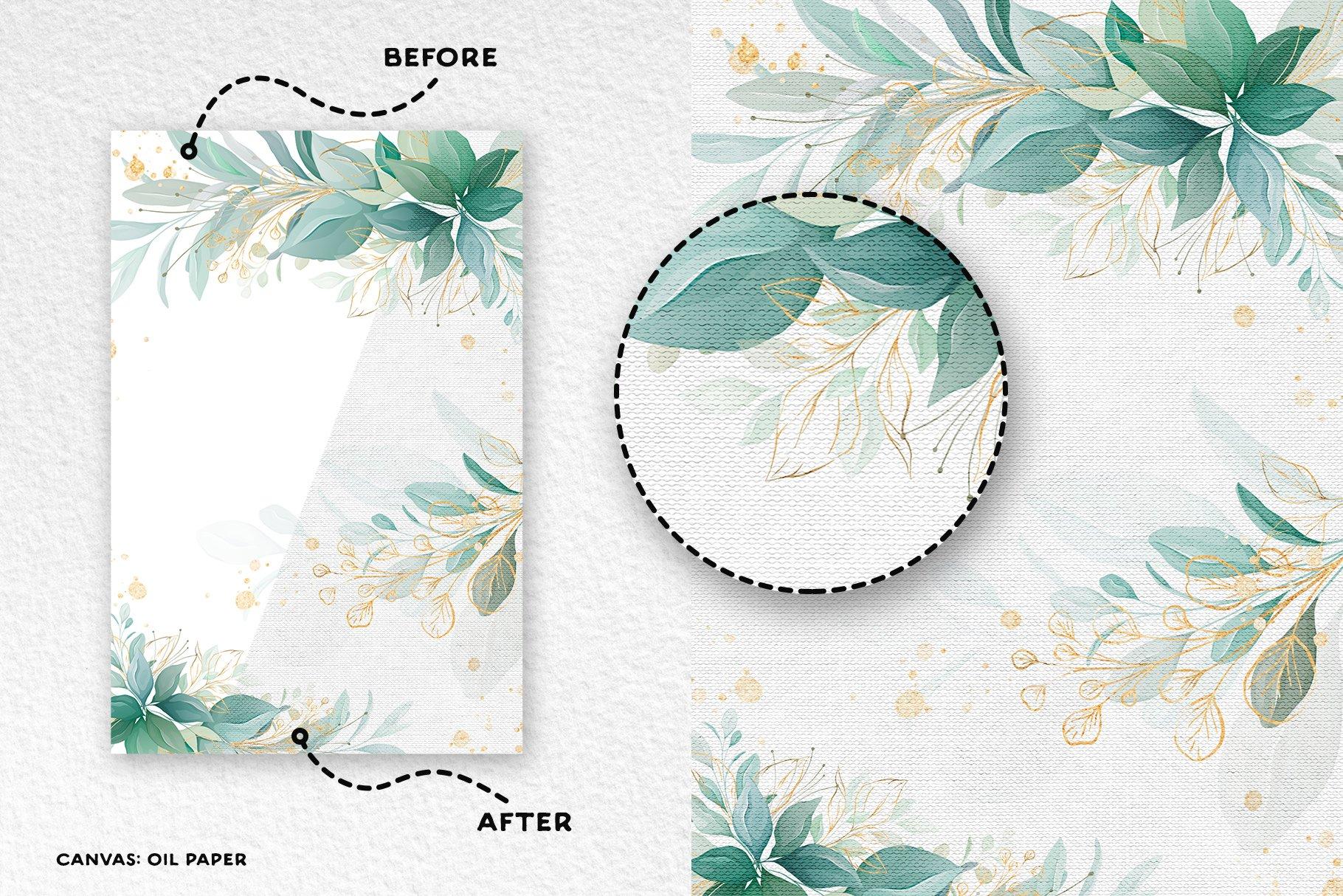 [单独购买] 17款逼真绘画画布背景Procreate纸纹理设计素材 Procreate Paper Texture Canvases插图1