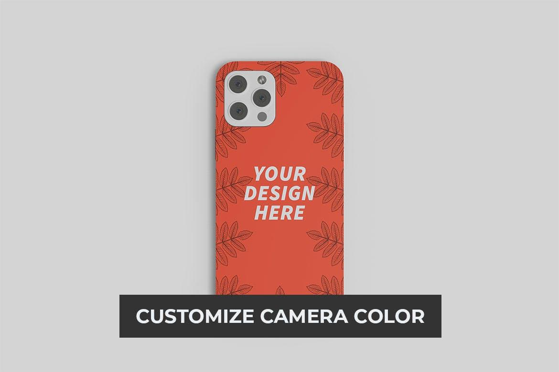 苹果iPhone 12手机壳外观设计PS贴图样机 iPhone 12 Casing Mockup插图2