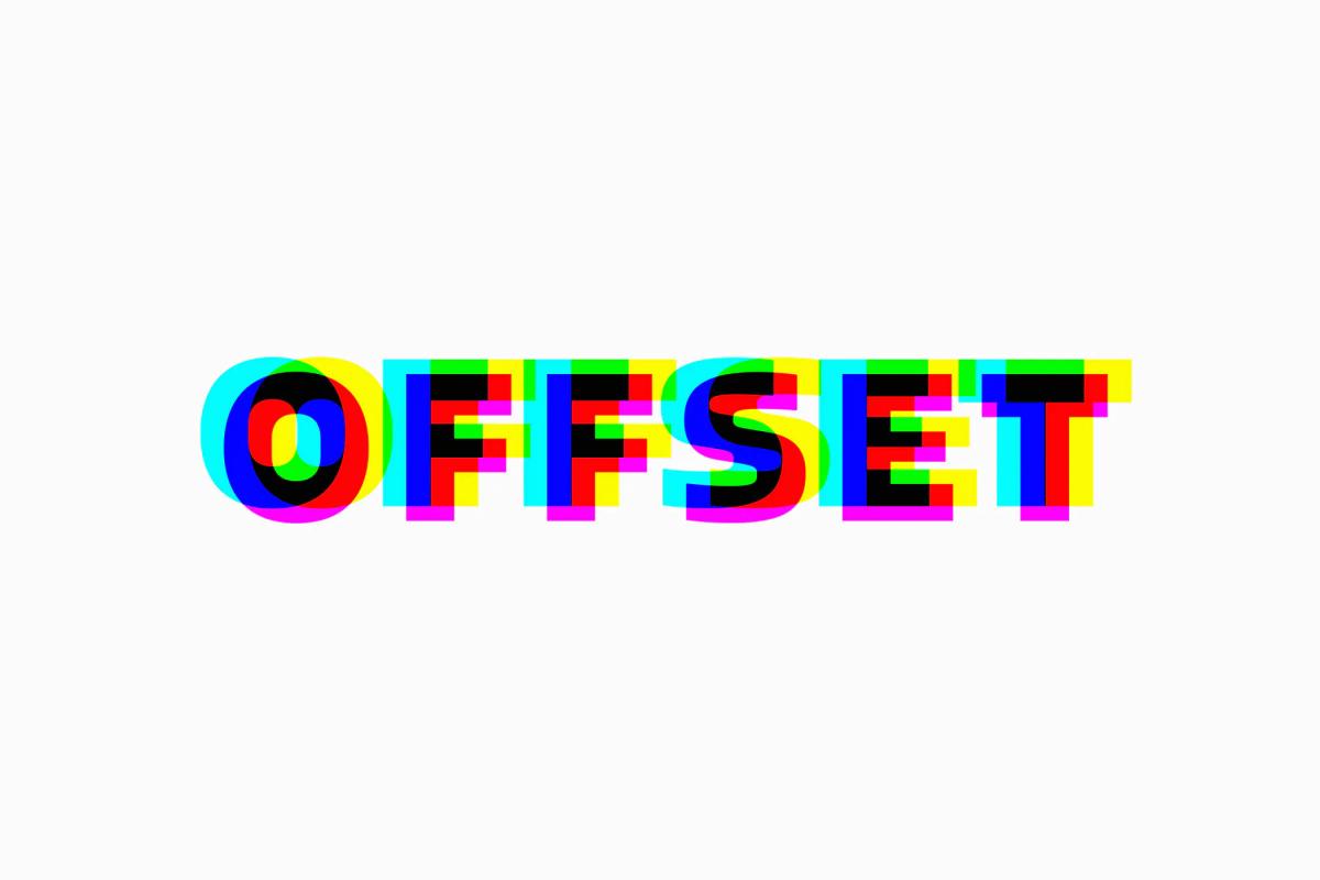 3款故障风标题徽标Logo文字设计PS样式模板 Anaglyphic Stereo Text Effect插图