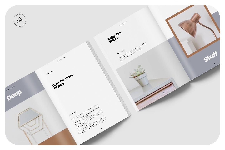 室内家具家居设计作品集目录排版INDD画册模板素材 Melissa Interor Design Catalog插图2
