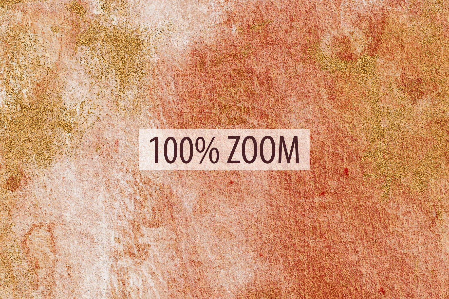 [单独购买] 20款抽象奢华橙色水彩纹理海报设计背景图片素材 20 Seamless Watercolor Textures插图3