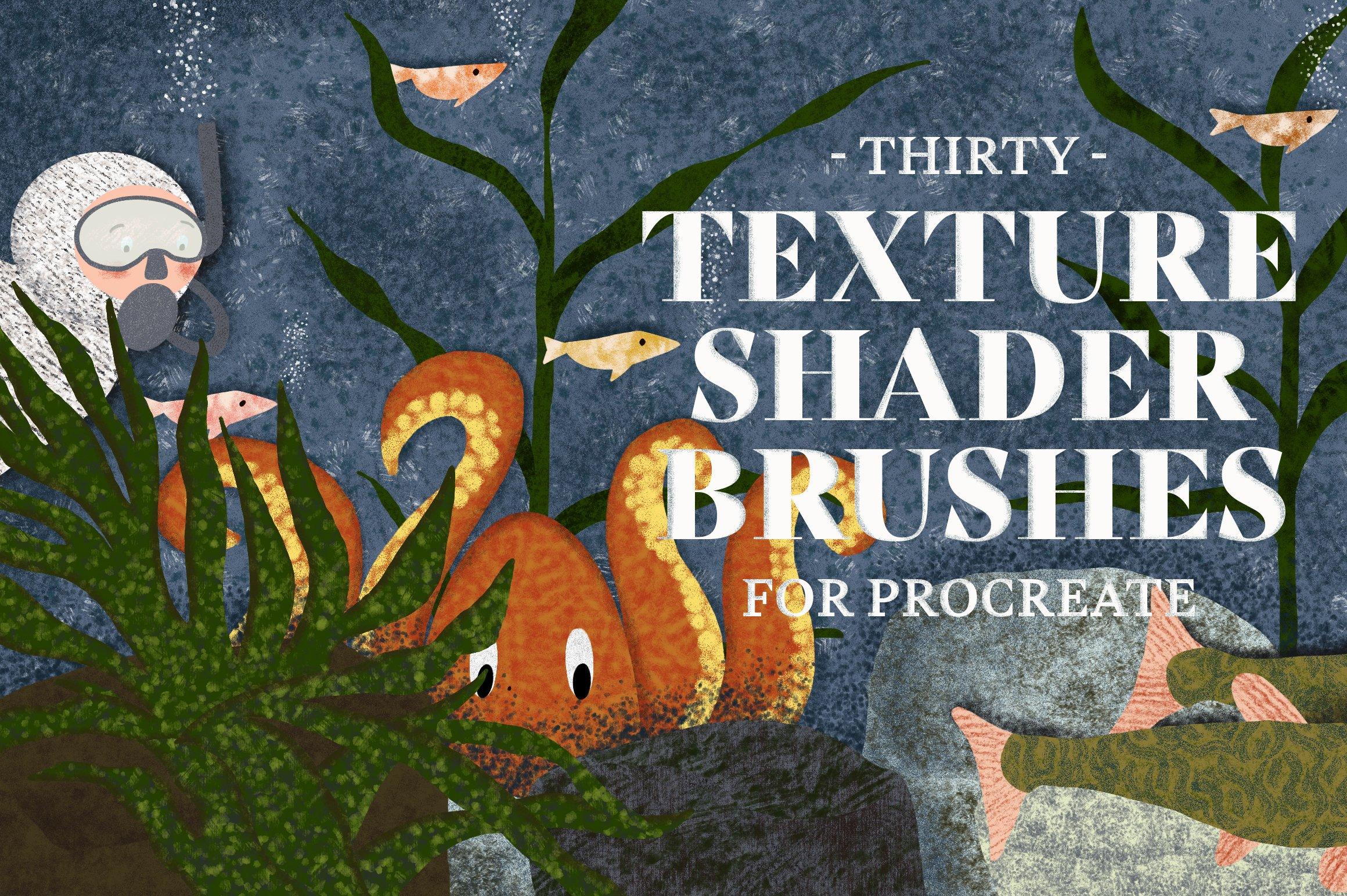 15套逼真铅笔蜡笔Procreate笔刷纹理着色器素材套装 Procreate Brushes Megabundle插图3