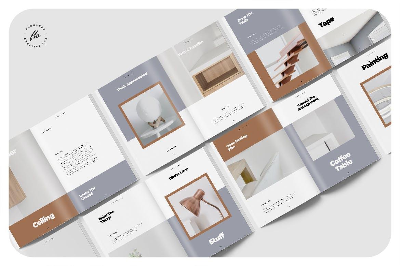 室内家具家居设计作品集目录排版INDD画册模板素材 Melissa Interor Design Catalog插图4