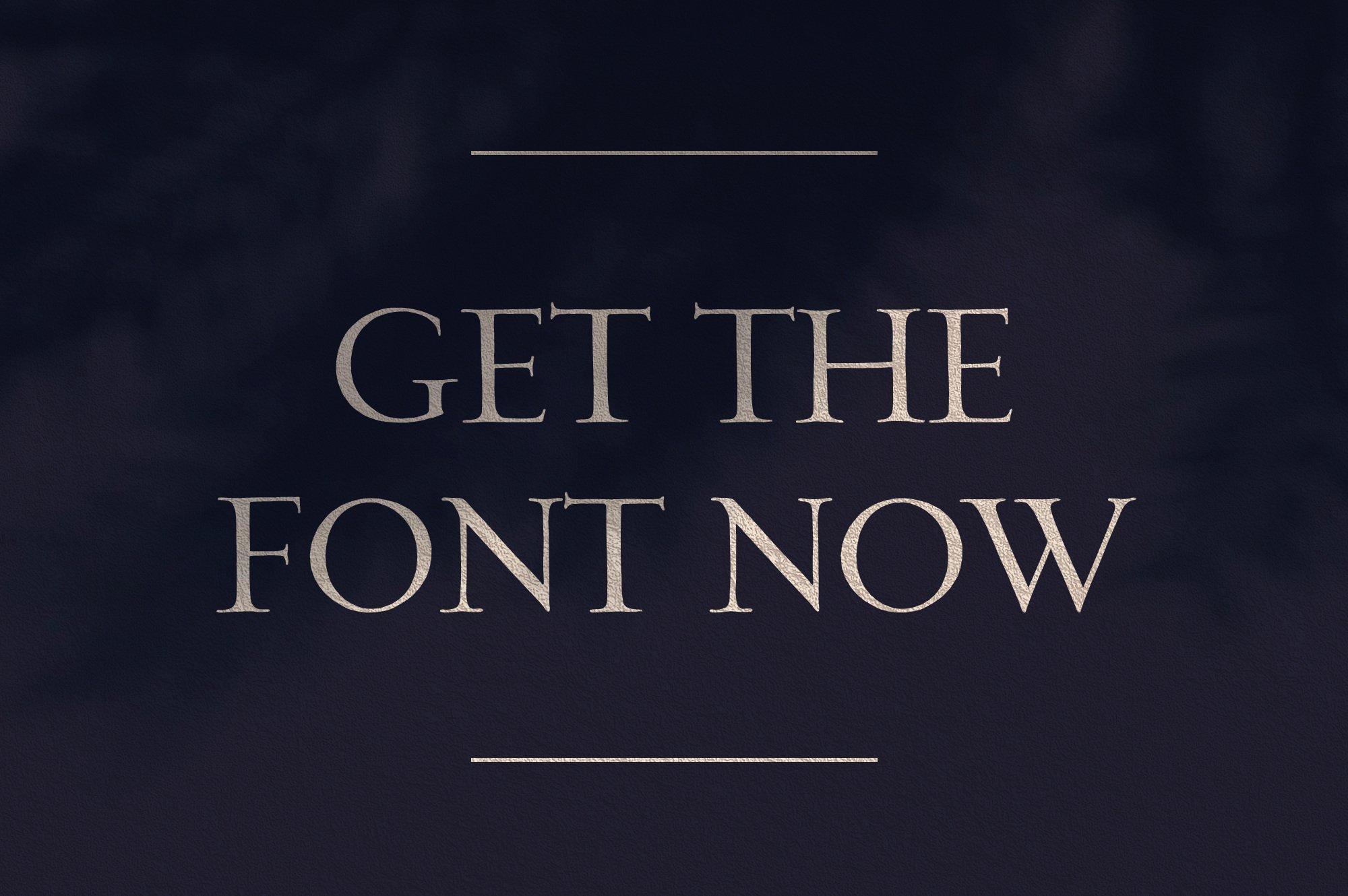 优雅轻奢时尚现代品牌Logo标题衬线英文字体设计素材 Loki – Serif Script Font插图6