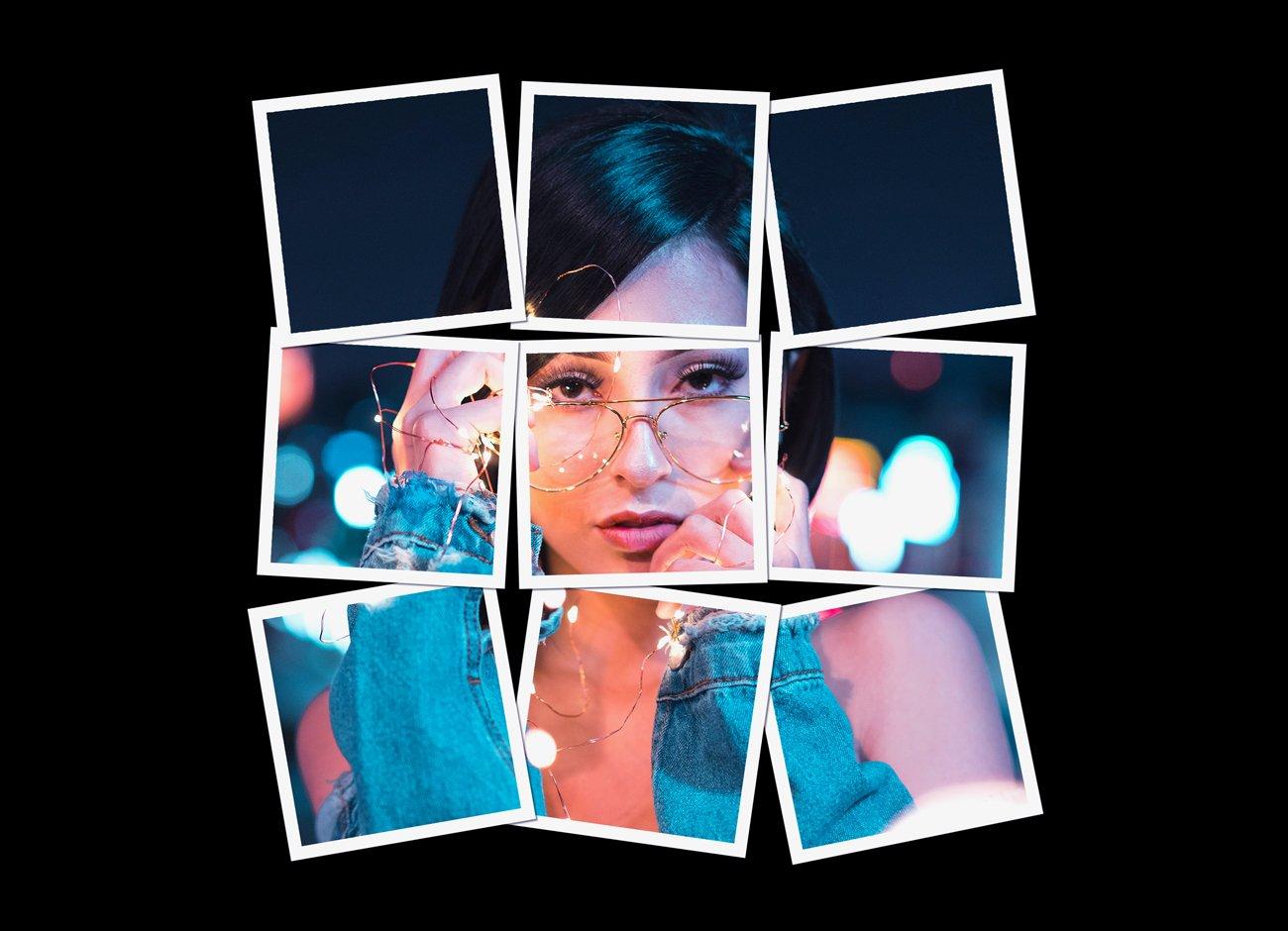 拼贴效果照片处理特效PS动作模板素材 Collage Photo Effect PS Action插图8