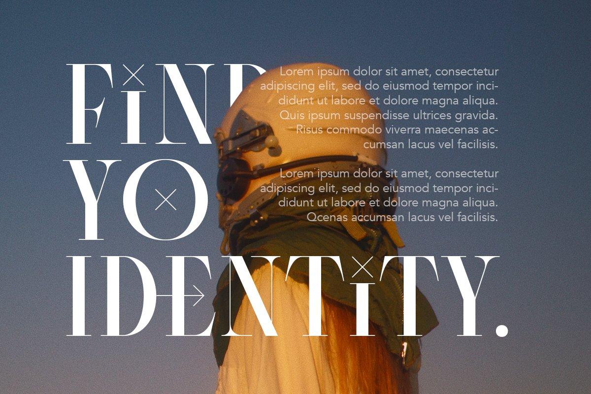 优雅杂志品牌标题Logo设计衬线英文字体素材 Consent – Editorial Serif Font插图2