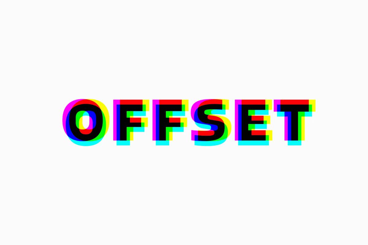 3款故障风标题徽标Logo文字设计PS样式模板 Anaglyphic Stereo Text Effect插图1