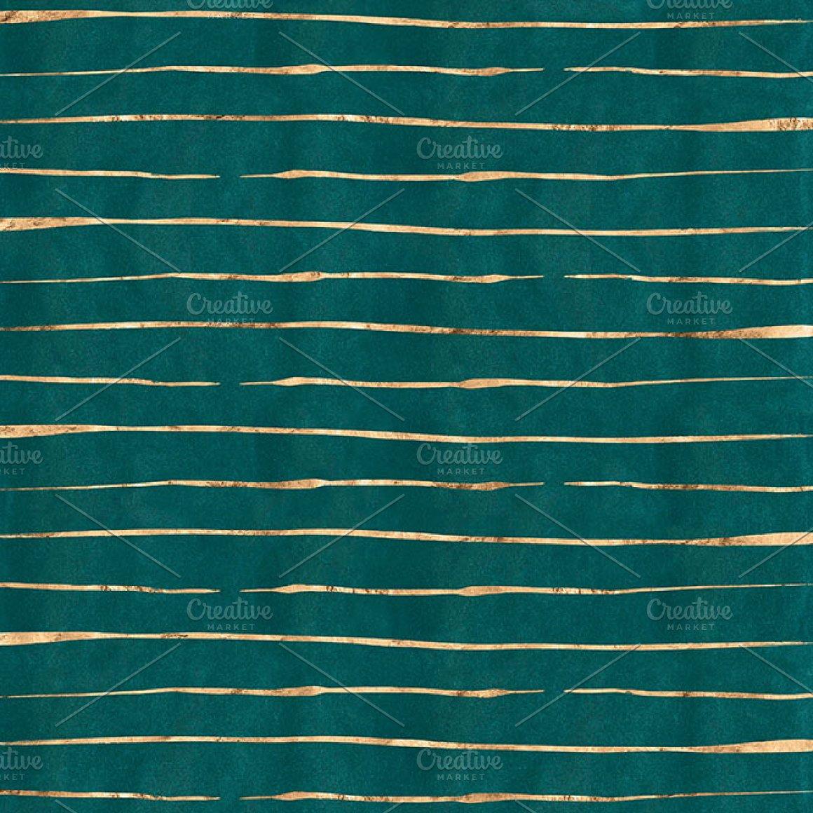 12款复古金箔水彩皮革木材纹理背景图片设计素材 Burnished Gold Patterns & Textures插图5