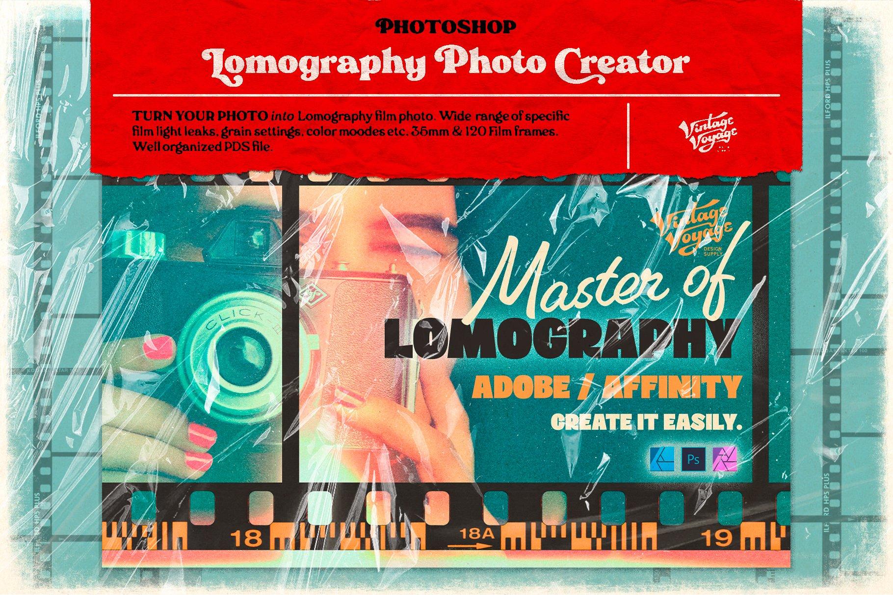 7款潮流素描水彩半调胶片艺术海报效果照片处理特效PS素材套装 Photoshop Creator's Bundle • 7 in 1插图11
