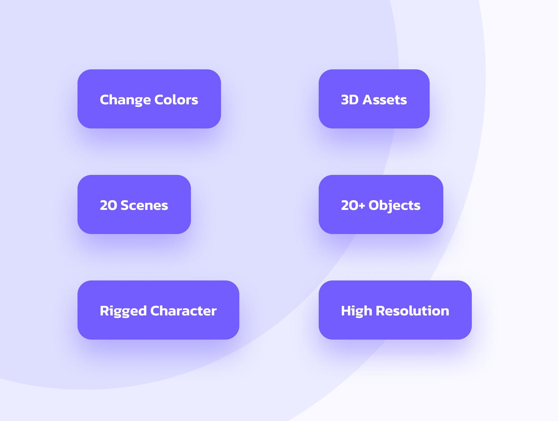 创意潮流卡通人物办公场景APP UI设计3D图标素材包 OUUU!!! 3D Illustration插图1