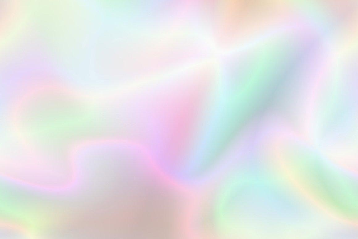 60款全息渐变虹彩海报背景图片设计素材 Holographic Backgrounds插图3