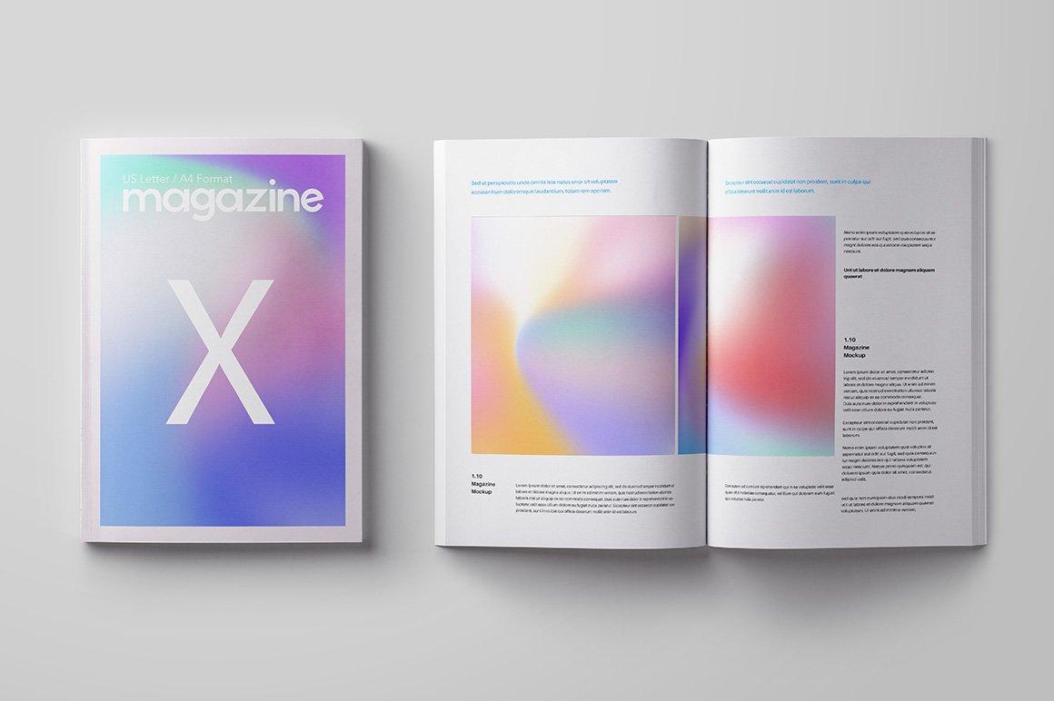 50款潮流全息渐变虹彩海报设计纹理背景图片素材 50 Holographic Backgrounds插图3