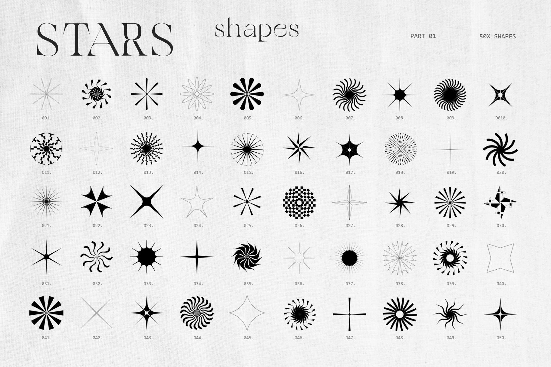 [淘宝购买] 潮流抽象几何形状渐变背景粗糙纹理海报背景设计素材套装 Inartflow – Shapes And Textures插图2