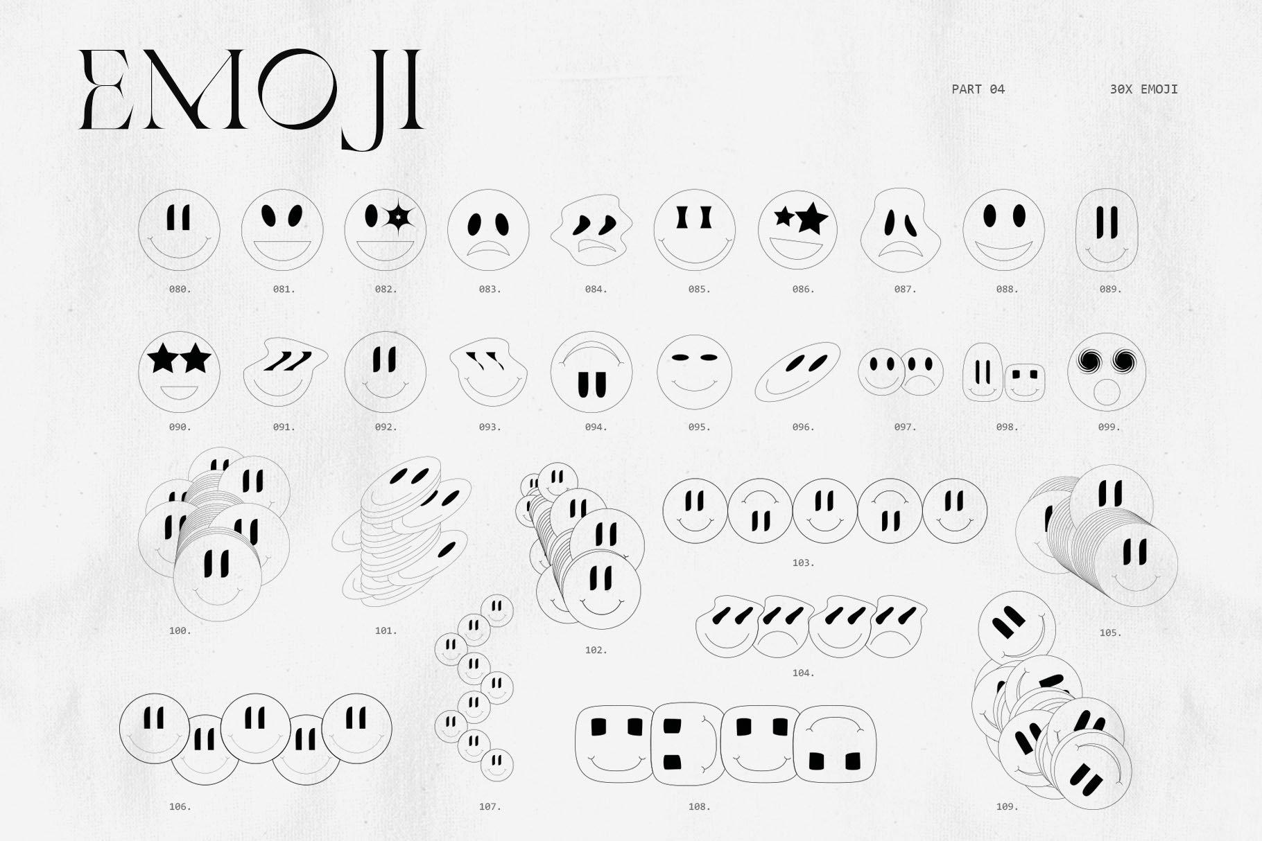 [淘宝购买] 潮流抽象几何形状渐变背景粗糙纹理海报背景设计素材套装 Inartflow – Shapes And Textures插图5