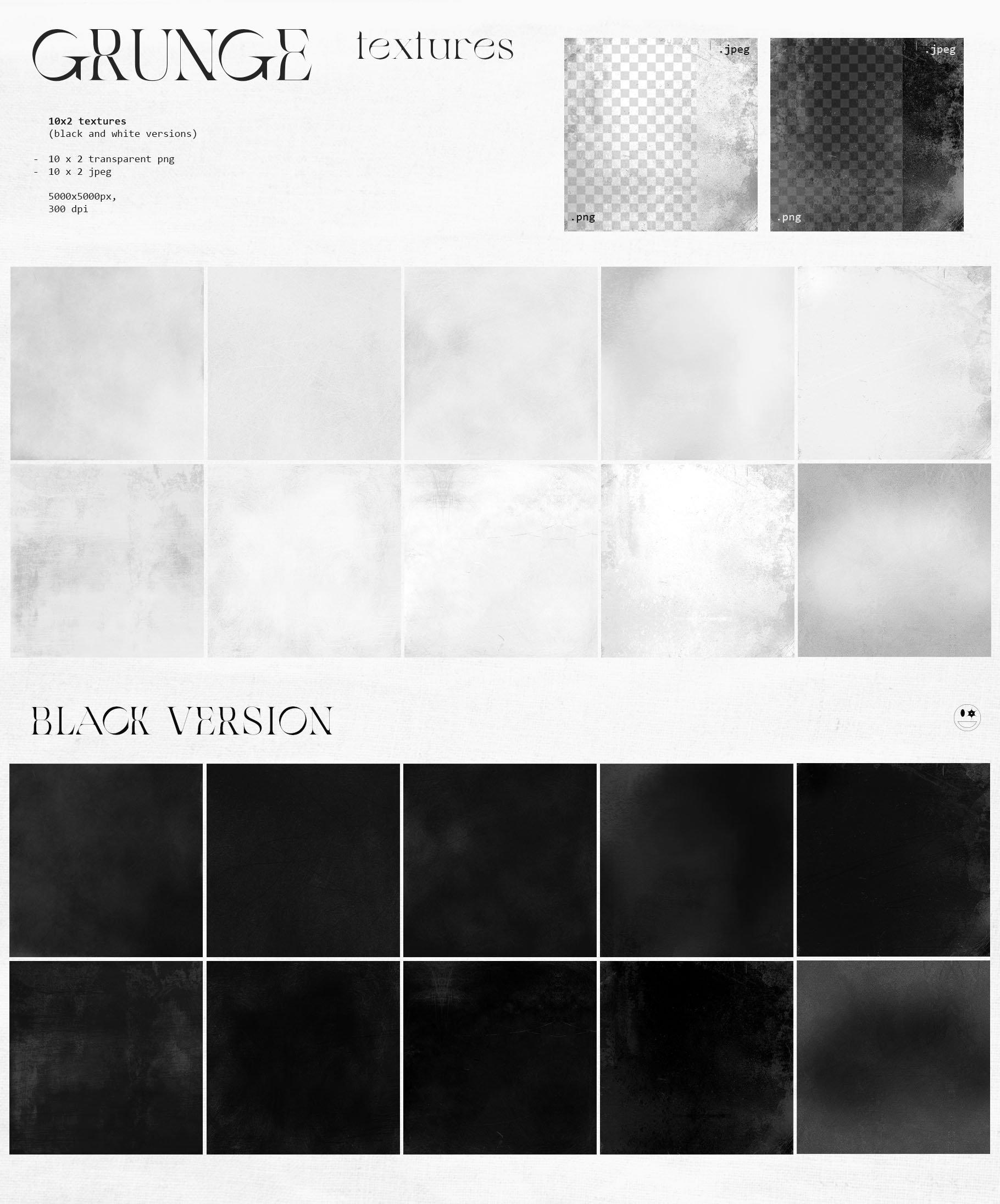 [淘宝购买] 潮流抽象几何形状渐变背景粗糙纹理海报背景设计素材套装 Inartflow – Shapes And Textures插图10