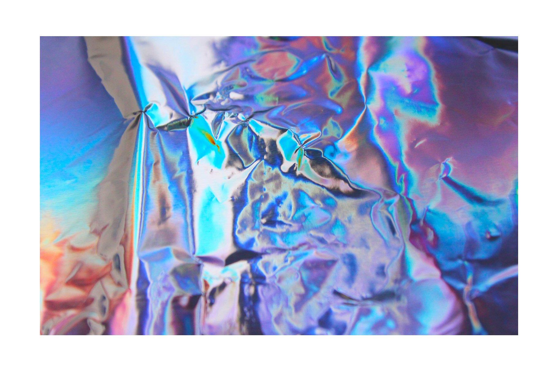 [淘宝购买] 90款潮流炫彩全息镭射金属箔纸海报设计肌理纹理背景图片设计素材 90 Holographic Foil Textures插图8