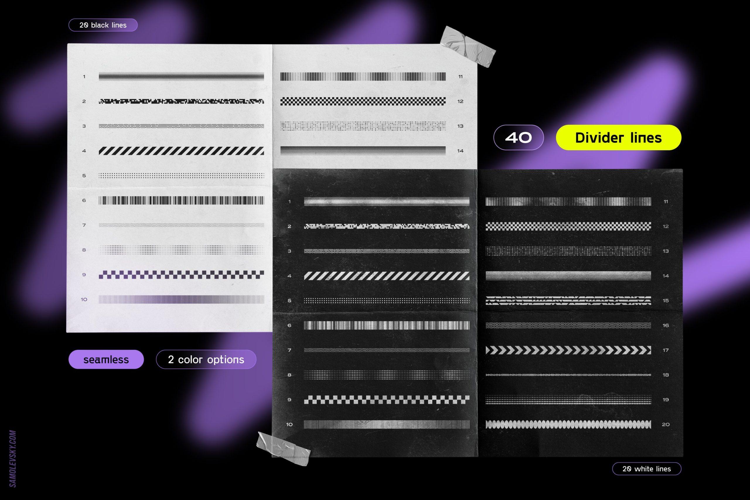[淘宝购买] 时尚潮流抽象扭曲多边形几何海报设计矢量设计素材 Geometric Shapes For Poster Design插图3