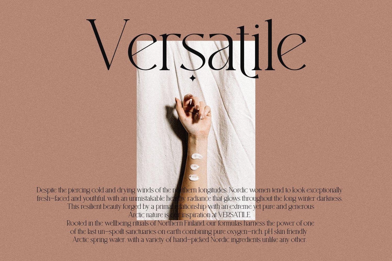 现代优雅杂志标题徽标Logo设计衬线手写英文字体素材 South Amsterdam Font Duo & Logos插图13