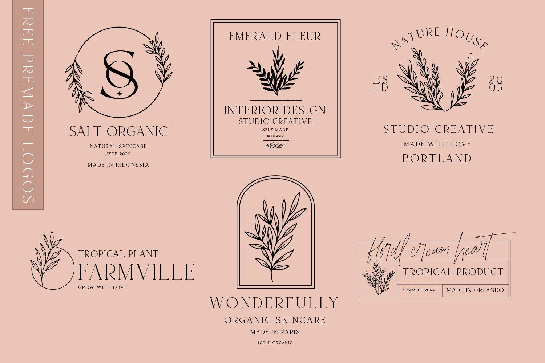 现代时尚杂志标题徽标Logo设计衬线英文字体素材 South Amsterdam Serif Font插图16