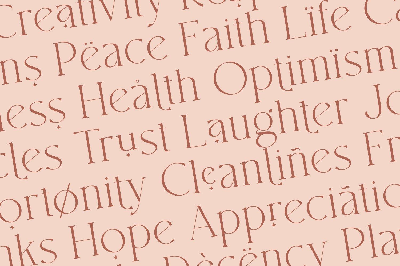 现代优雅杂志标题徽标Logo设计衬线手写英文字体素材 South Amsterdam Font Duo & Logos插图29