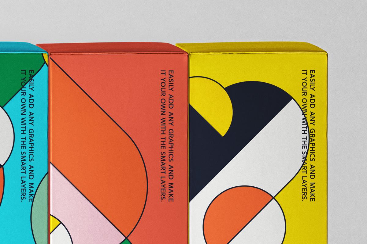 精美产品包装纸盒外观设计PSD样机合集 Spine Psd Boxes Packaging Mockup Set插图1