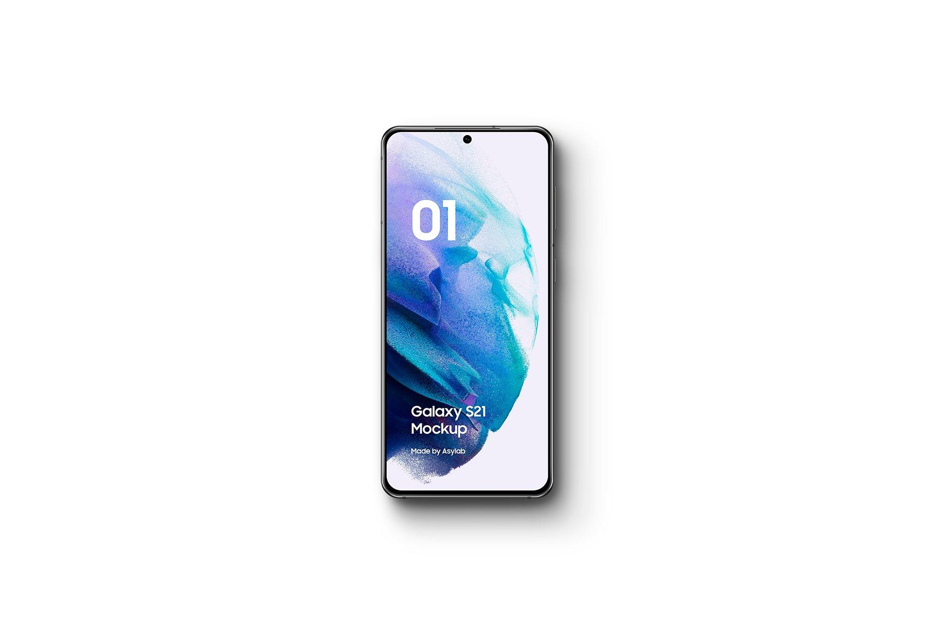 [单独购买] 20款三星Galaxy S21手机网站APP界面设计演示样机模板套件 Galaxy S21 – 20 Mockups Scenes插图5