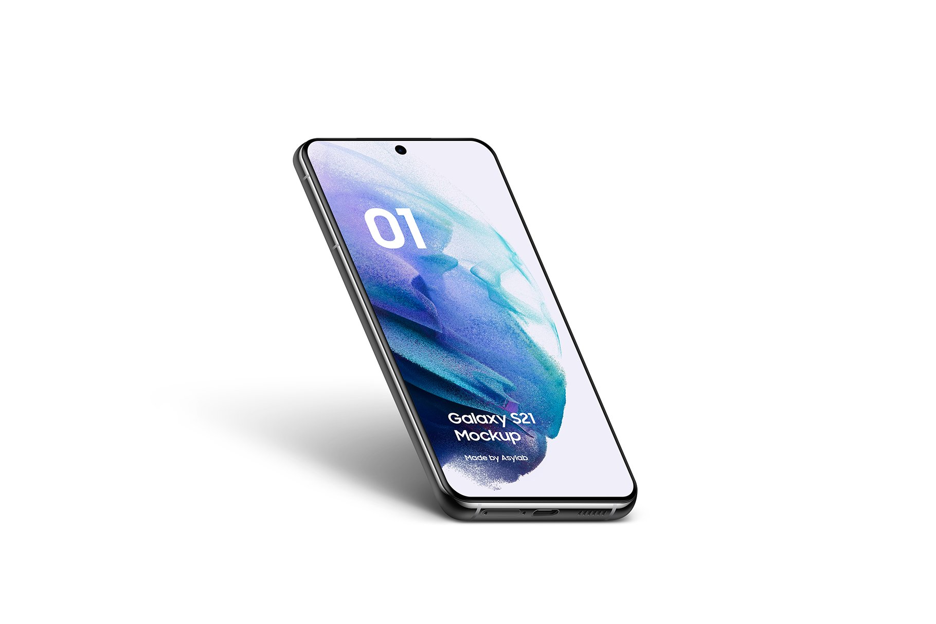 [单独购买] 20款三星Galaxy S21手机网站APP界面设计演示样机模板套件 Galaxy S21 – 20 Mockups Scenes插图13