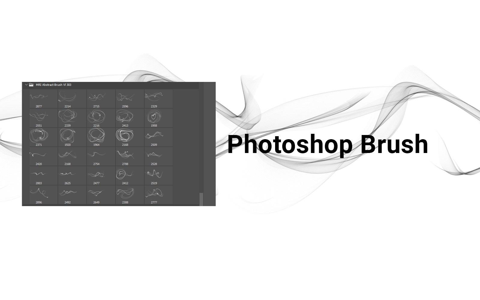 抽象科技烟雾线条装饰笔刷PNG透明图片设计素材 Abstract Brush Transparent PNG插图12