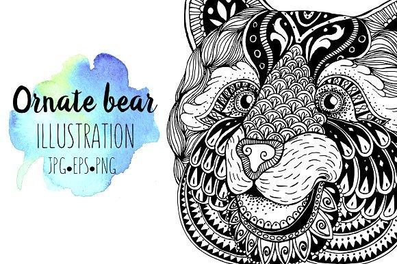 500多款可爱卡通动物花卉手绘水彩画设计素材 500+ENTIRE SHOP BUNDLE Watercolors插图15