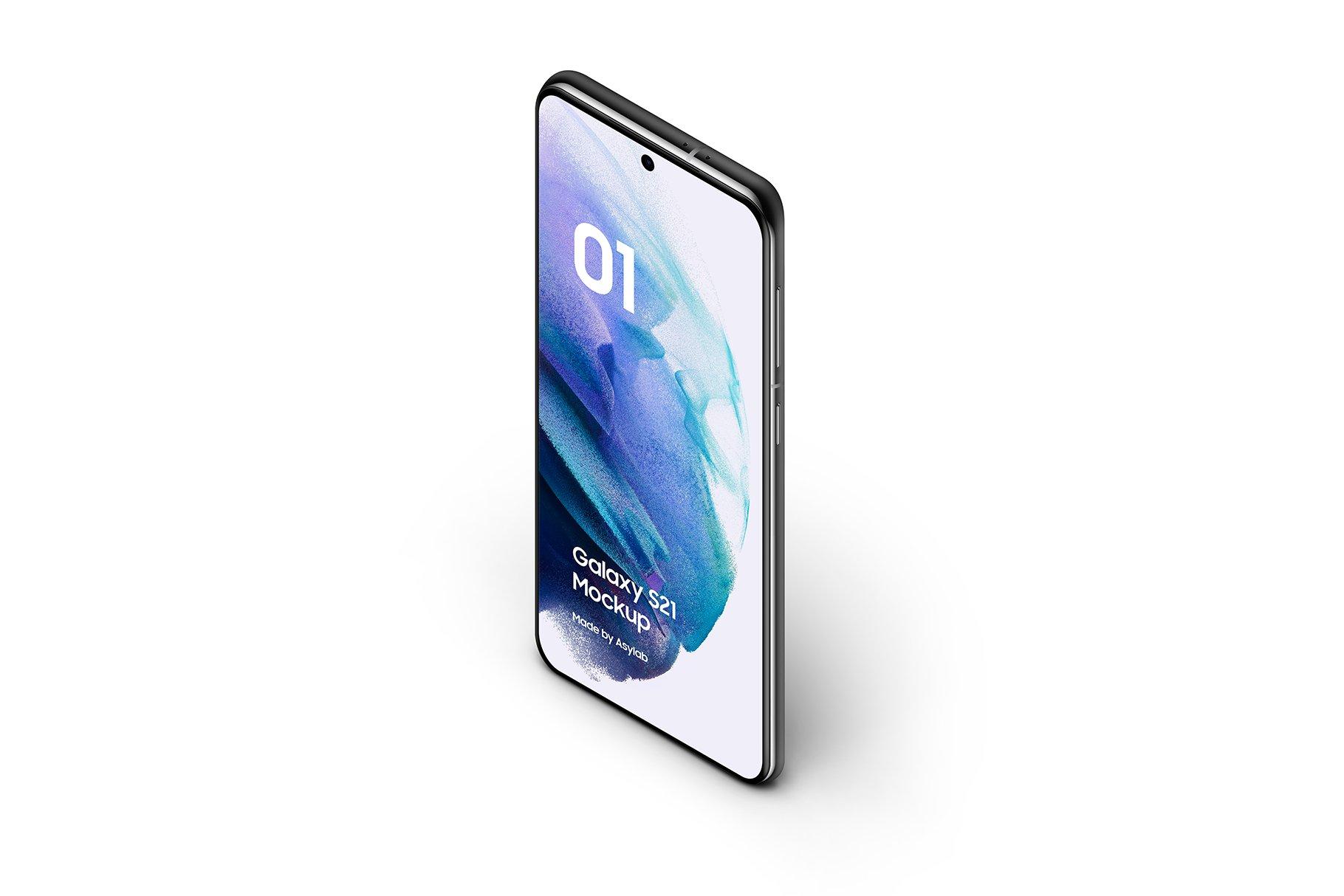[单独购买] 20款三星Galaxy S21手机网站APP界面设计演示样机模板套件 Galaxy S21 – 20 Mockups Scenes插图16