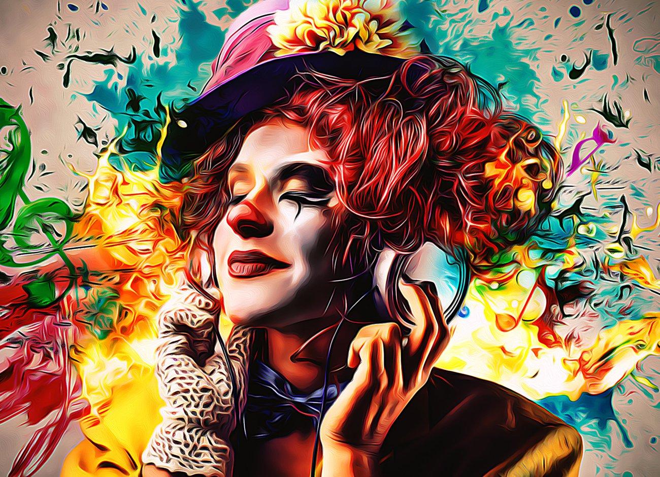 逼真油画效果照片处理特效PS动作模板素材 Pro Oil Art Photoshop Action插图12