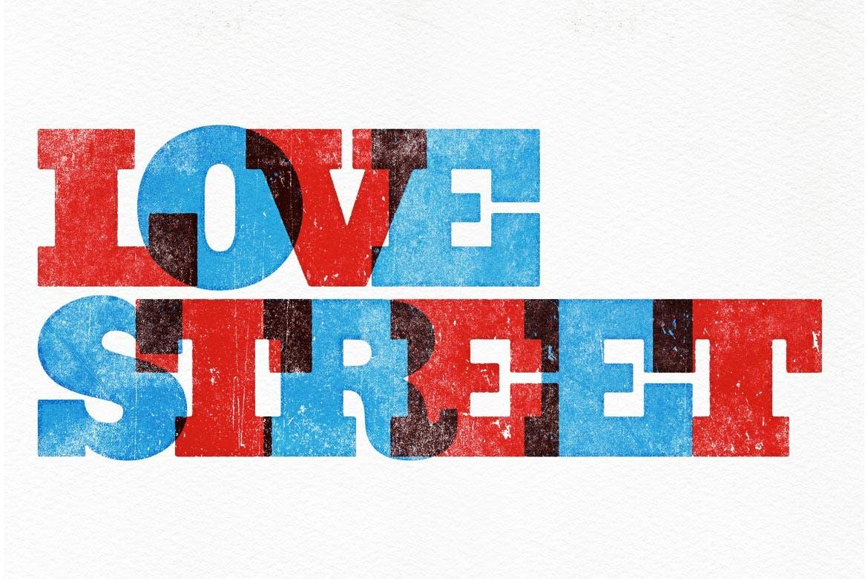 潮流复古做旧墨水套印浮雕效果标题海报设计PS素材套件 Rock And Roller Letterpress Kit插图11