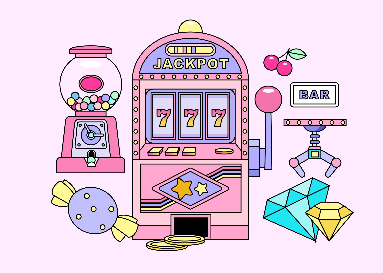[单独购买] 13款潮流炫彩复古撞色孟菲斯几何插图插画AI设计素材 Colorful Memphis Vector Material插图7