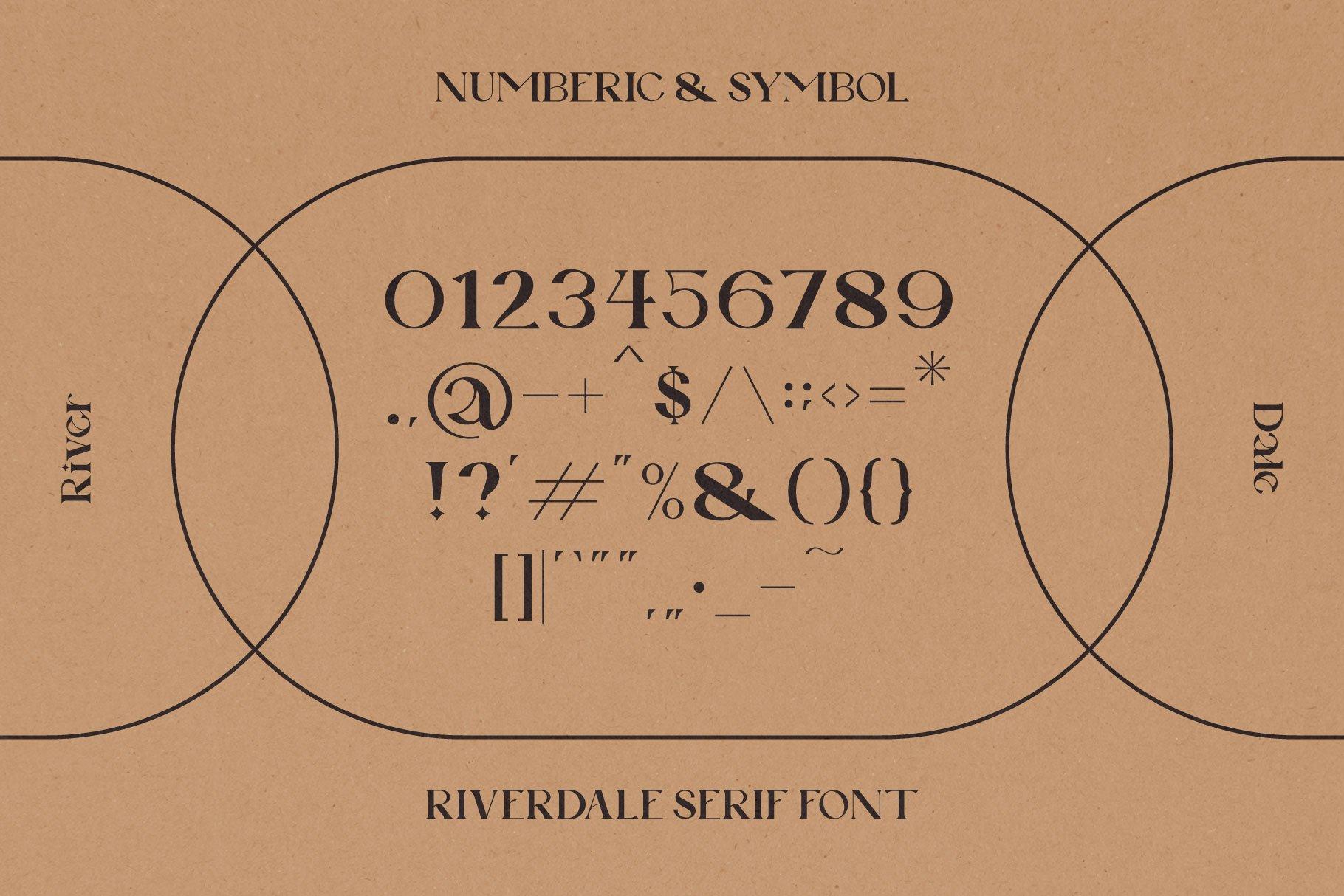 时尚优雅品牌Logo海报标题设计衬线英文字体素材 Riverdale Serif Font插图12