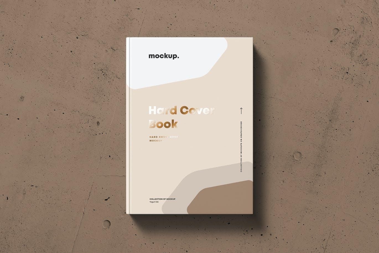 8款精装书封面设计展示贴图样机模板素材 Hard Cover Book Mock-up插图8