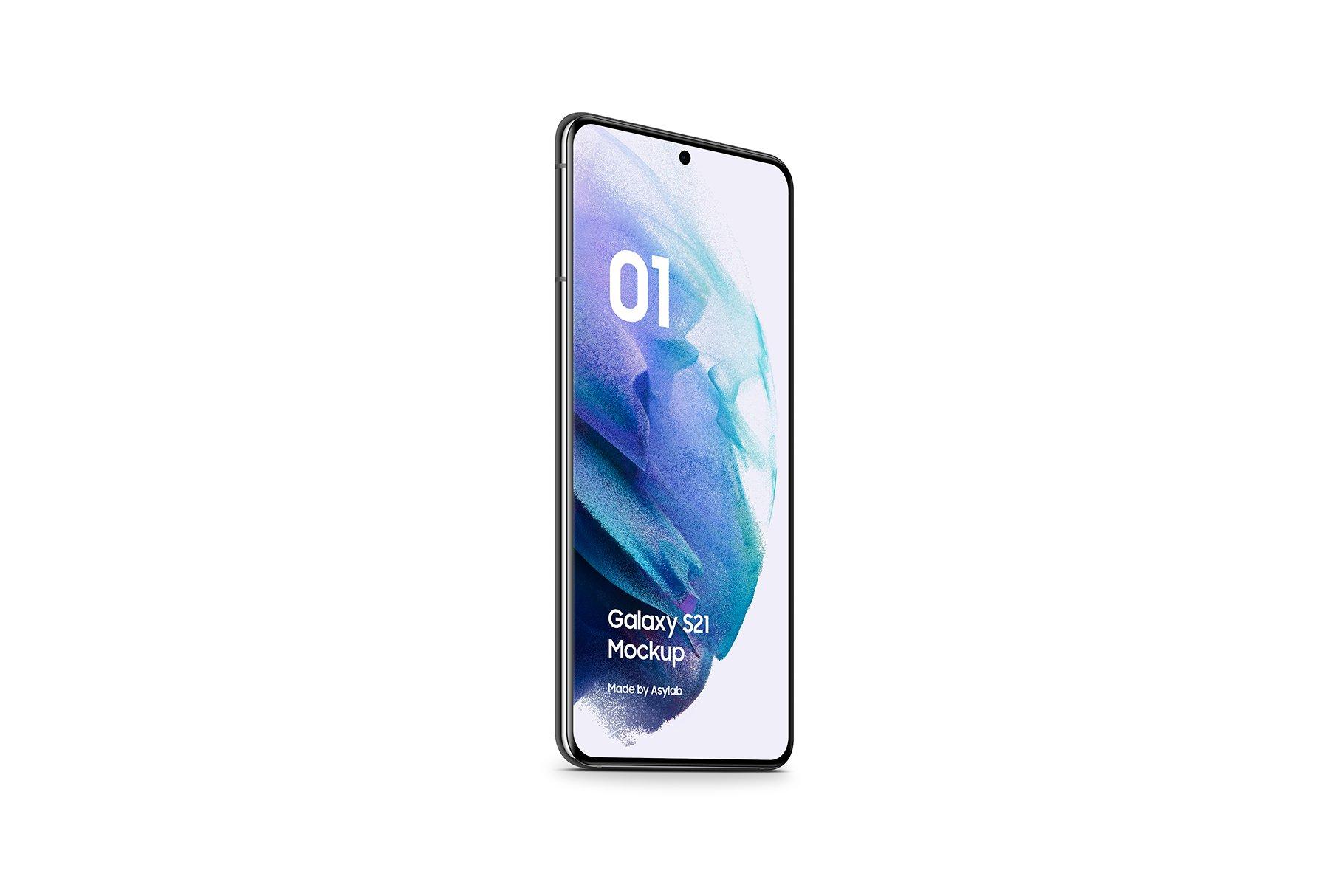 [单独购买] 20款三星Galaxy S21手机网站APP界面设计演示样机模板套件 Galaxy S21 – 20 Mockups Scenes插图21