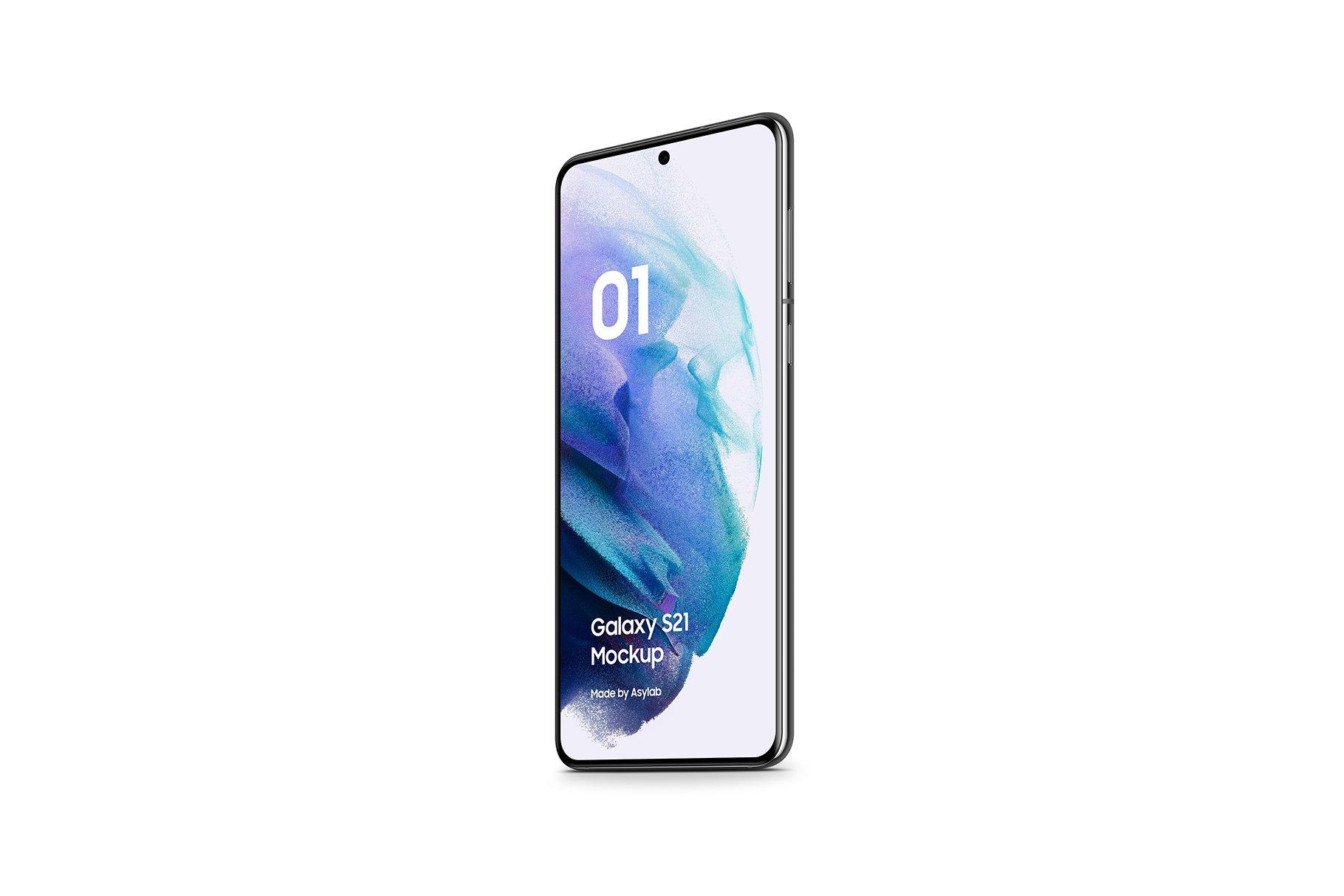 [单独购买] 20款三星Galaxy S21手机网站APP界面设计演示样机模板套件 Galaxy S21 – 20 Mockups Scenes插图22