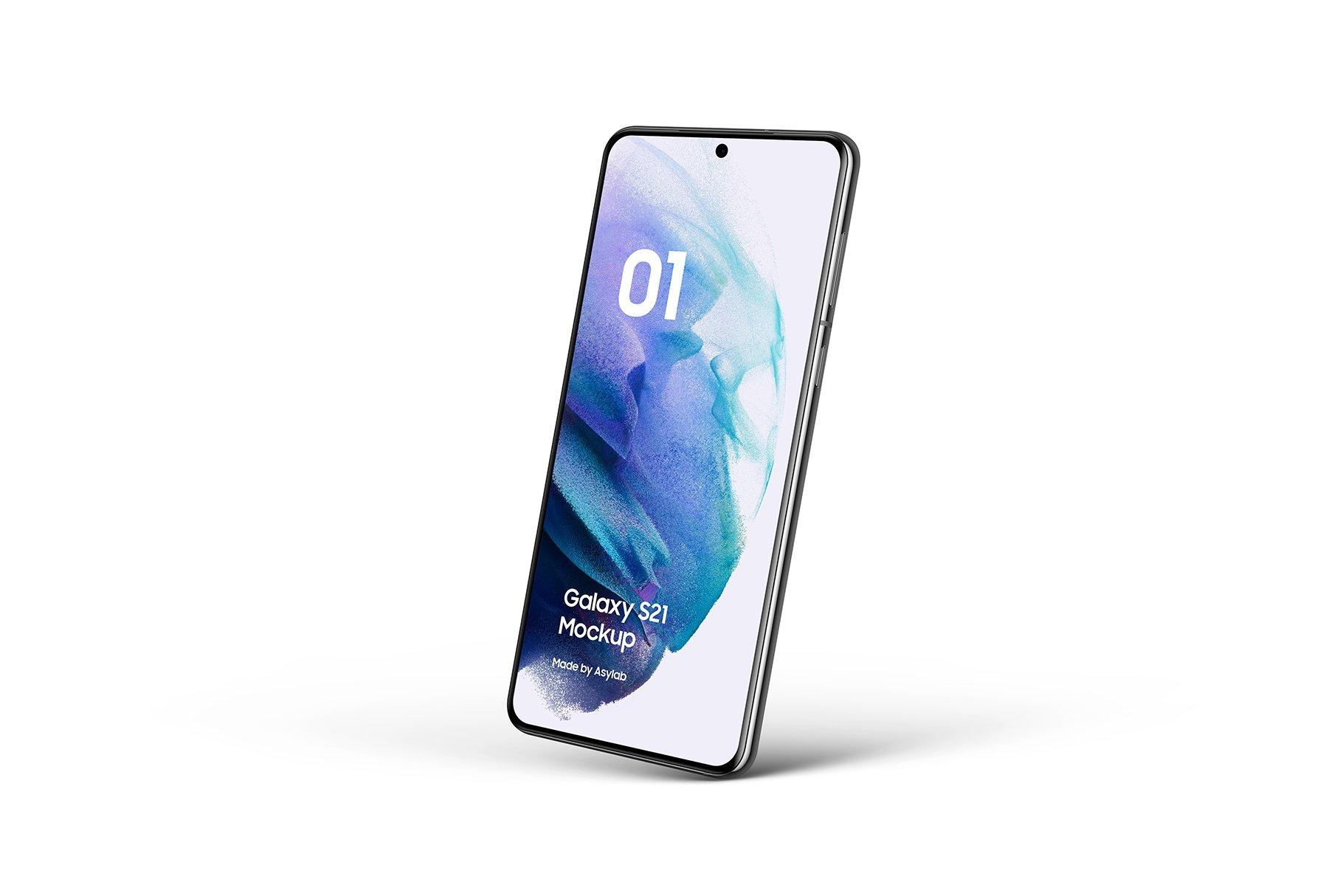 [单独购买] 20款三星Galaxy S21手机网站APP界面设计演示样机模板套件 Galaxy S21 – 20 Mockups Scenes插图24