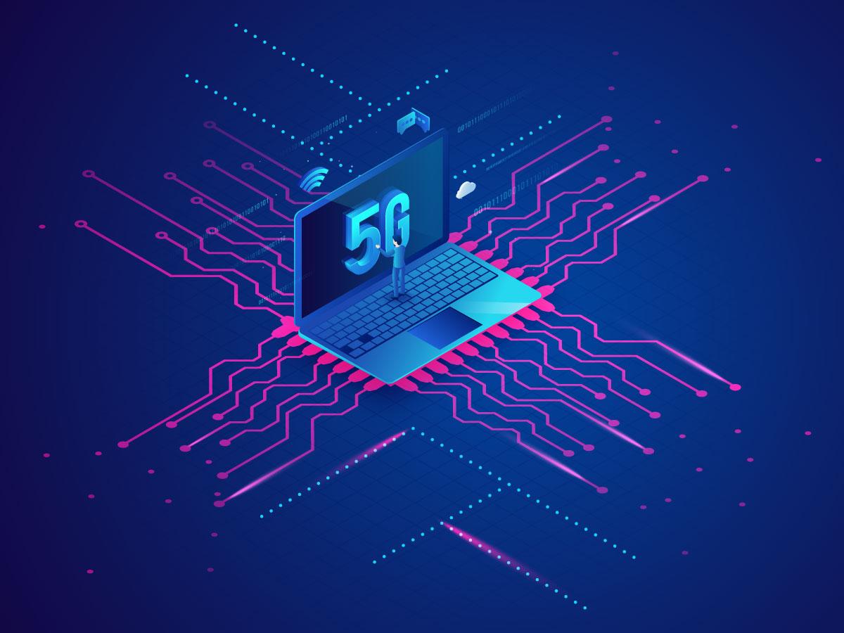 12款5G网络科技海报展板设计矢量素材 5G Technology Poster插图