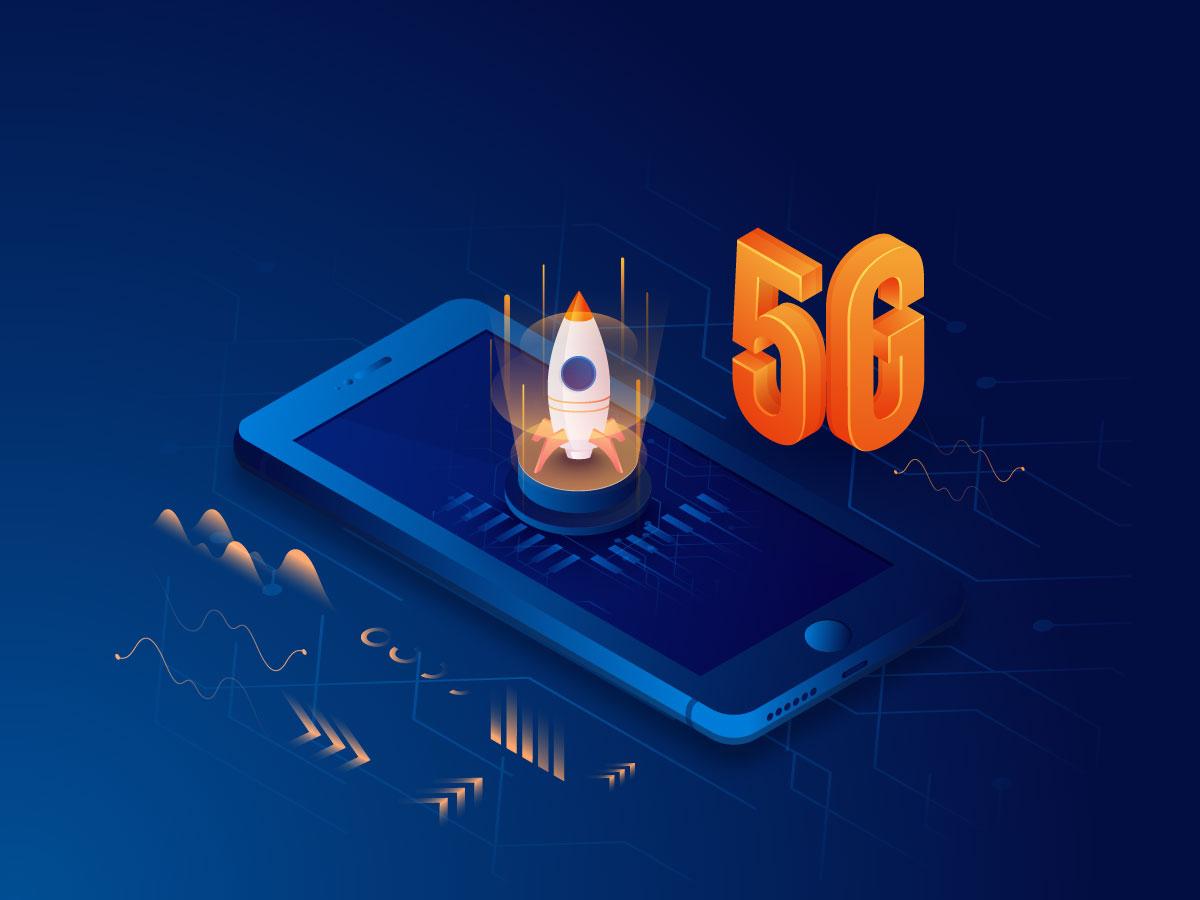 12款5G网络科技海报展板设计矢量素材 5G Technology Poster插图6