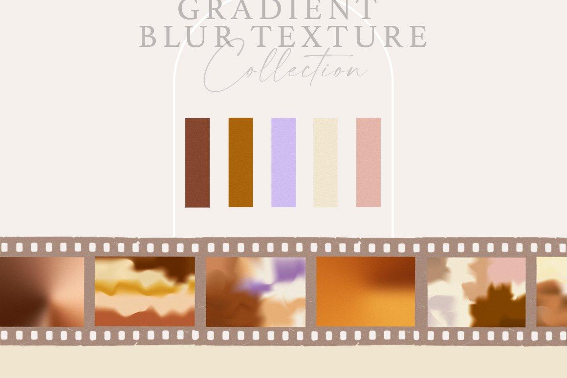 [单独购买] 20款抽象复古模糊渐变颗粒噪点装饰背景纹理图片设计素材 Gradient Ombre Blur Textures插图1