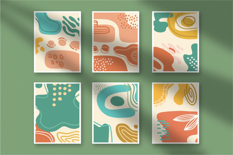 15款高清抽象品牌包装设计背景图片素材 Luxuria – Abstract Background插图1