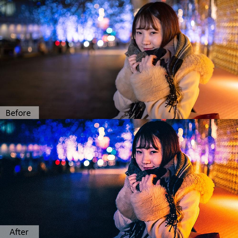 70款夜生活摄影照片调色滤镜PS动作模板 Night Life Photoshop Actions插图4