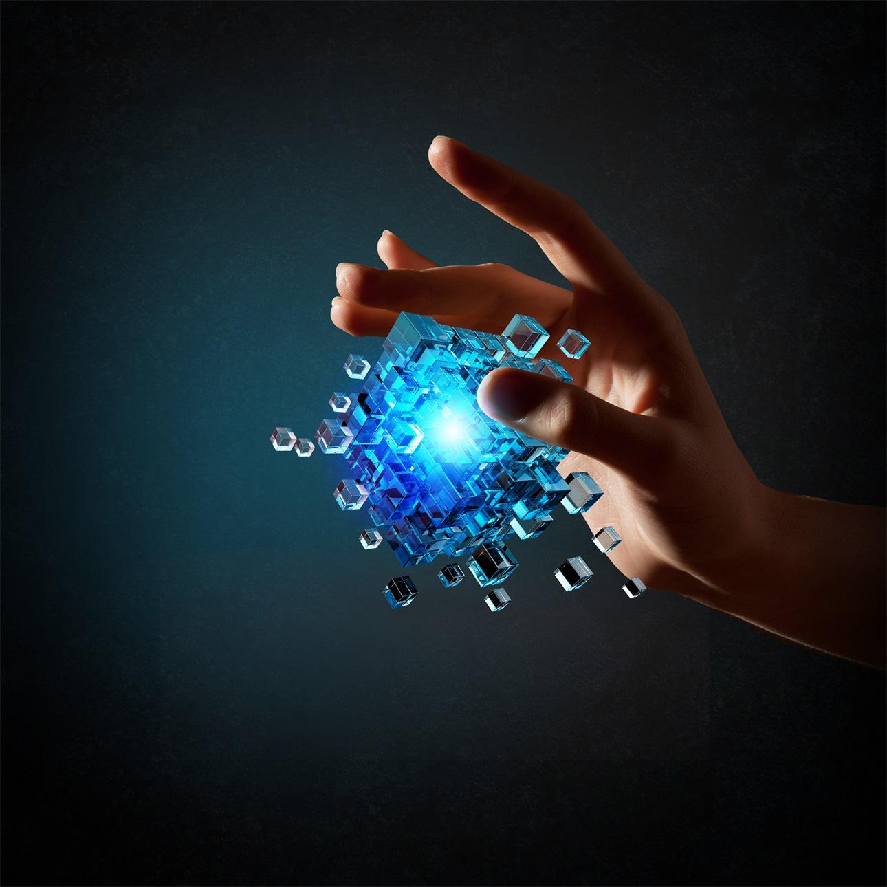 20款立方体方块魔方商务海报设计JPG图片素材 Cube Poster Image插图10