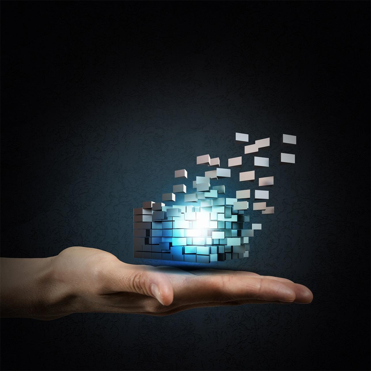 20款立方体方块魔方商务海报设计JPG图片素材 Cube Poster Image插图15