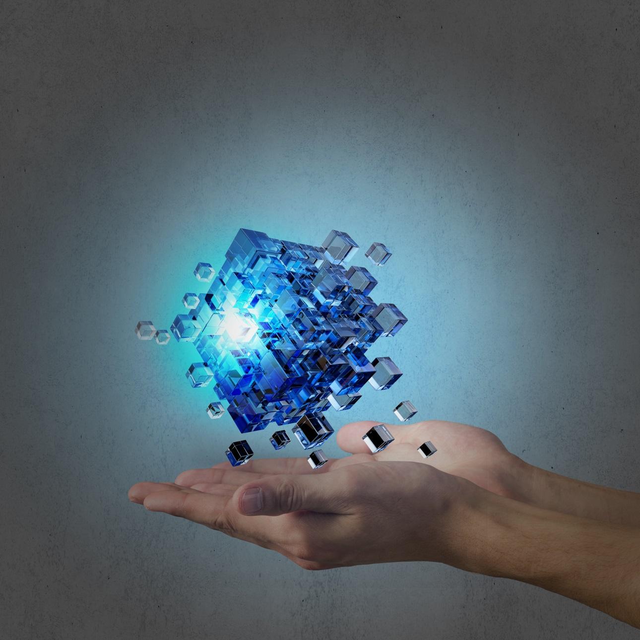 20款立方体方块魔方商务海报设计JPG图片素材 Cube Poster Image插图18