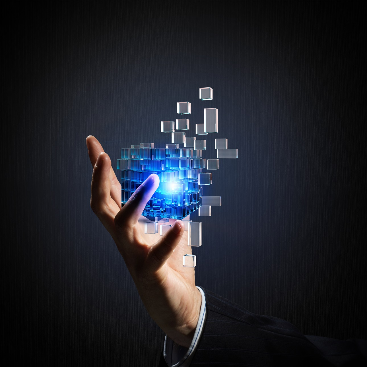 20款立方体方块魔方商务海报设计JPG图片素材 Cube Poster Image插图7