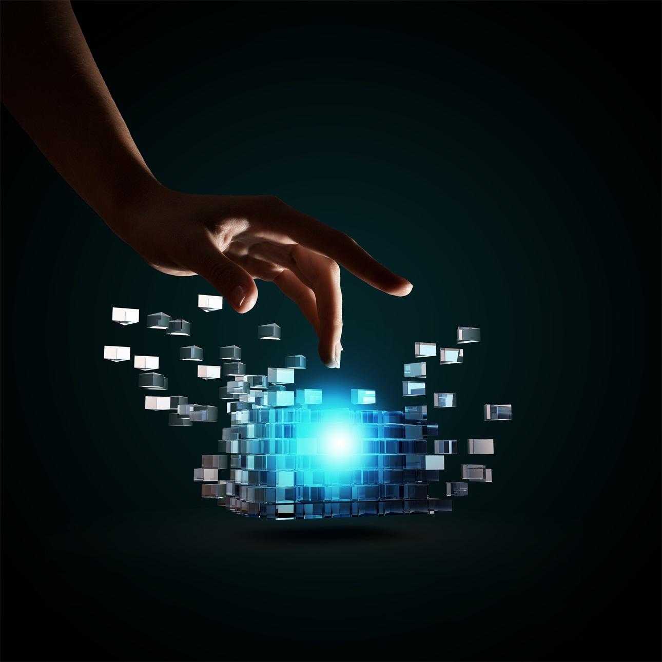 20款立方体方块魔方商务海报设计JPG图片素材 Cube Poster Image插图8