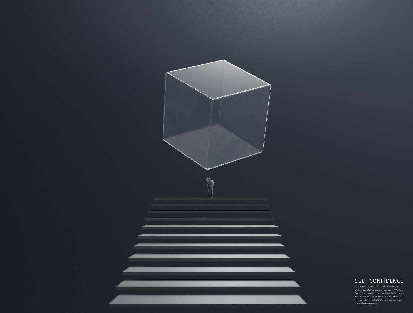 [单独购买] 12款创意黑白几何虚拟空间企业文化宣传主视觉海报设计PS素材模板 Virtual Space Sale Poster Template插图10